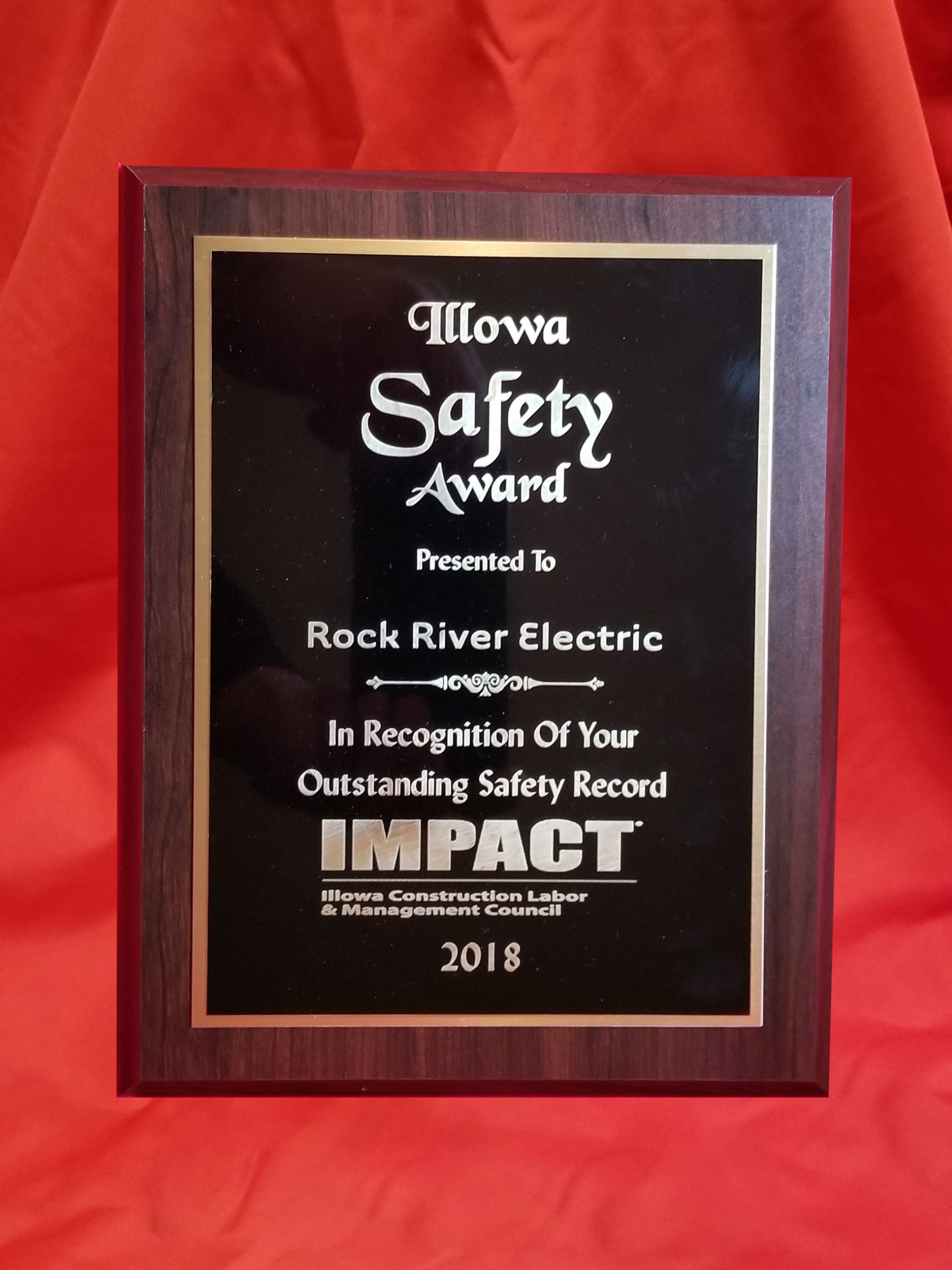 Illowa Safety Award 2018 & Best Of Business 2009