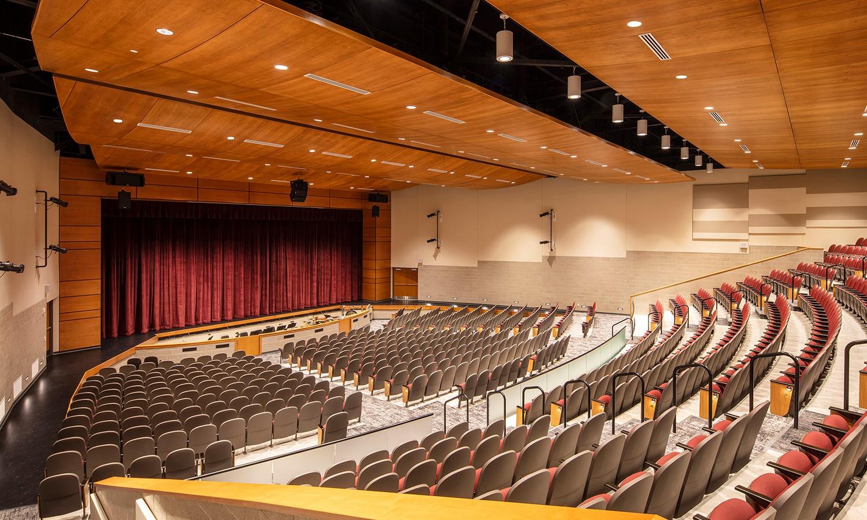 Moline High School Bartlett Auditorium